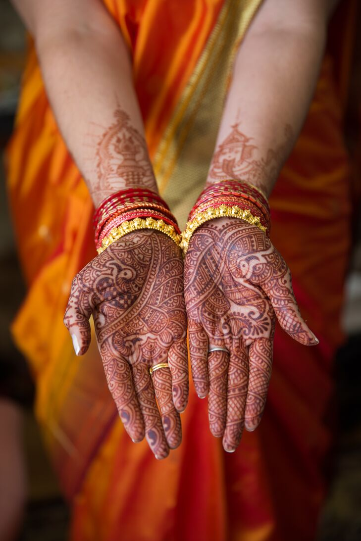 Traditional Indian Bridal Henna
