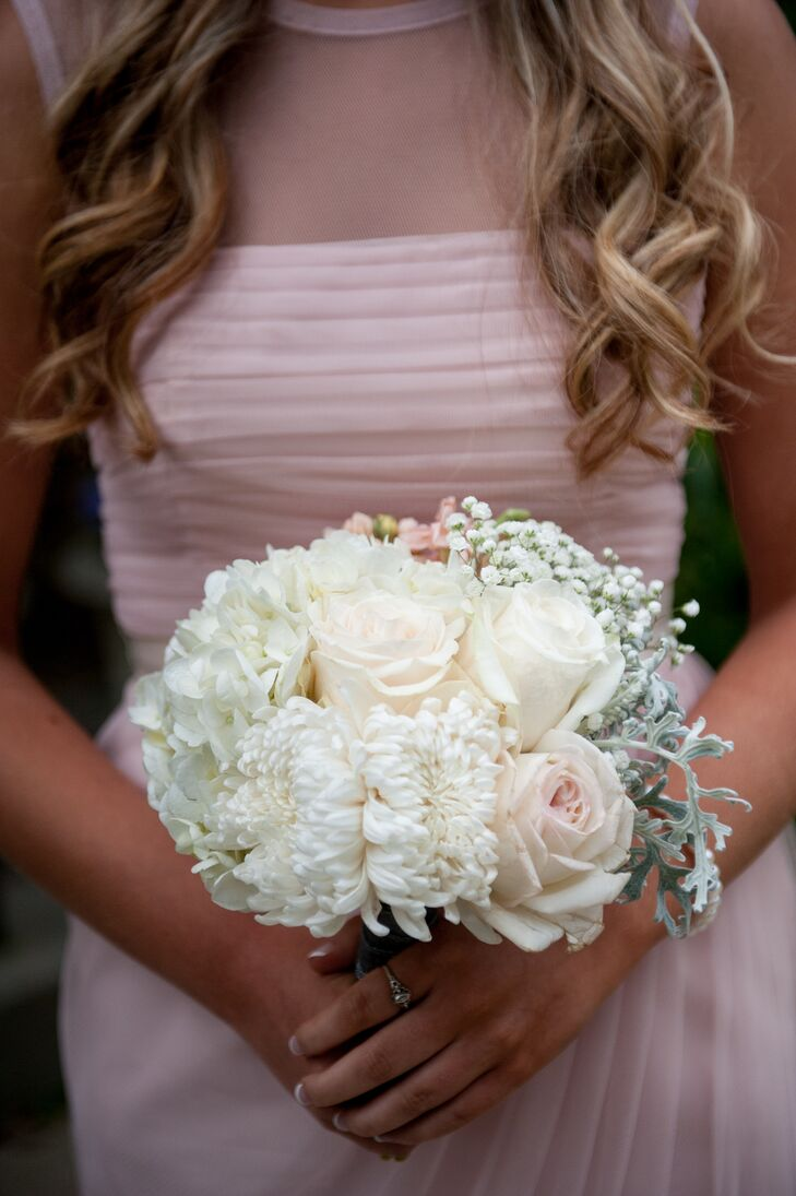 White Chrysanthemum Bouquet