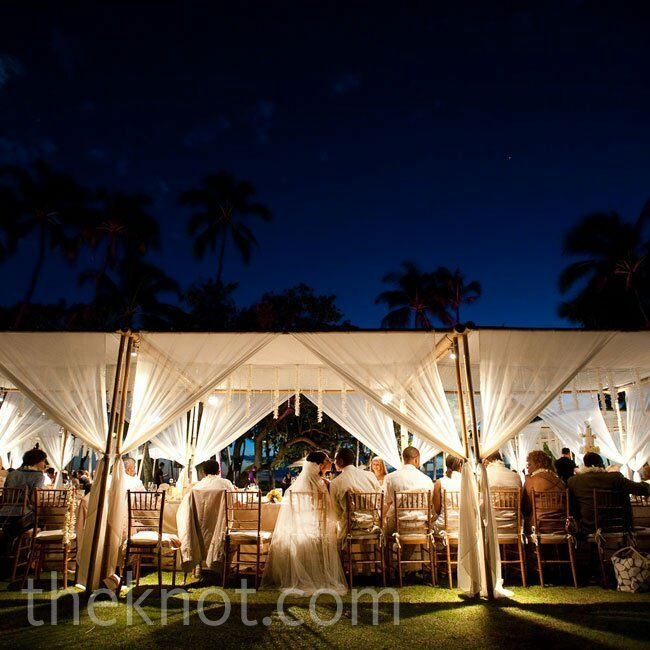Reception Canopy Decor