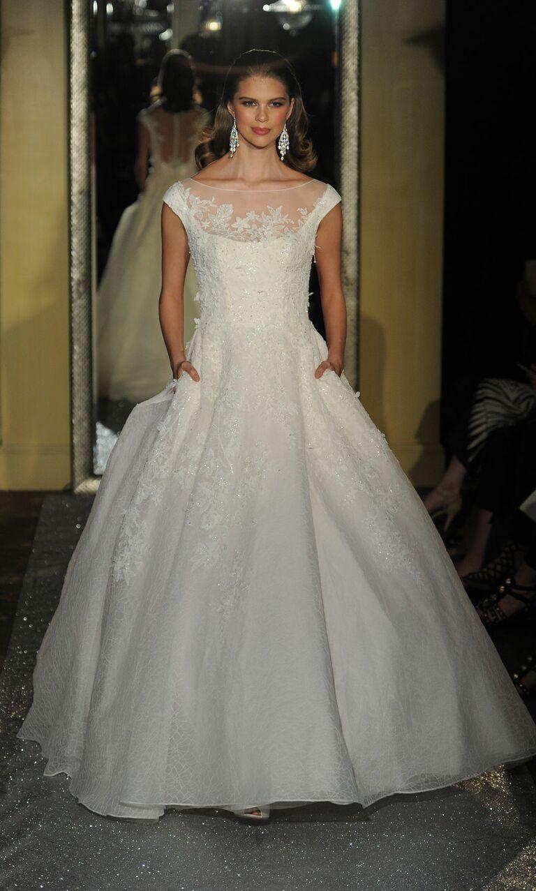 Classic wedding dresses from bridal fashion week spring 2017 oleg cassini wedding dress spring 2017 ombrellifo Choice Image