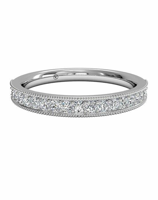 Ritani Women's Diamond Milgrain Wedding Band in Platinum (0.24 CTW) Wedding Ring photo