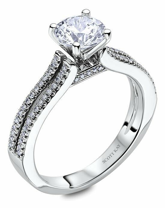 Scott Kay M2057R510 Engagement Ring photo