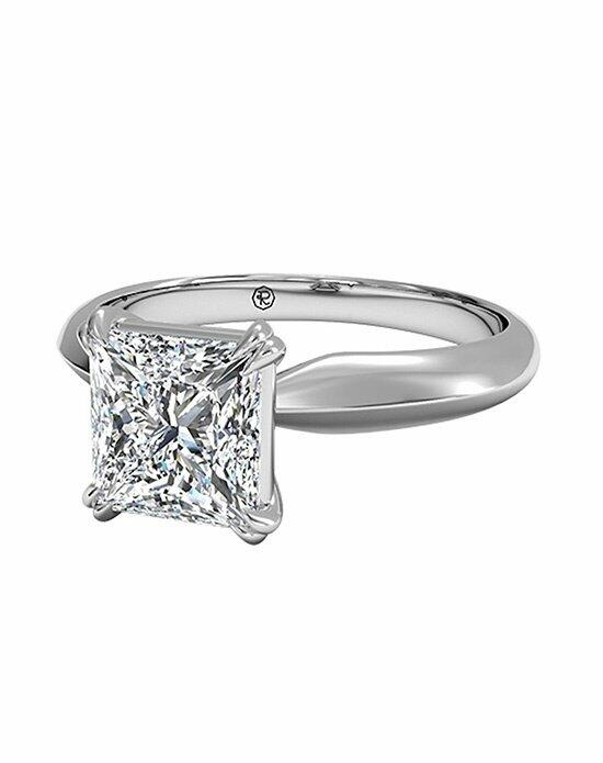 Ritani Princess Cut Solitaire Diamond Knife-Edge Tulip Engagement Ring in Platinum Engagement Ring photo