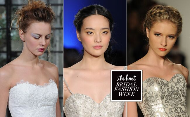 New Wedding Hair and Makeup Ideas From Bridal Fashion Week