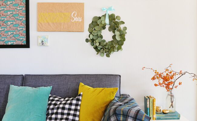 Freshen Up Any Room with This DIY Eucalyptus Wreath