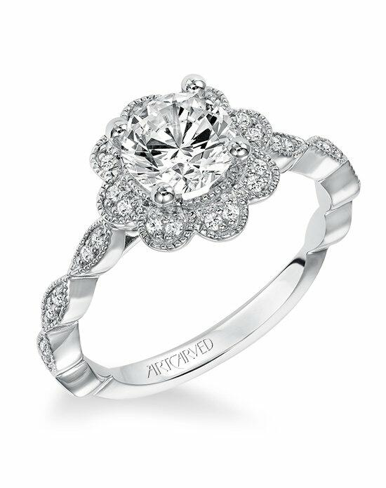 ArtCarved 31-V567ERW Engagement Ring photo
