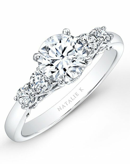 Natalie K Renaissance Collection - NK26632-W Engagement Ring photo