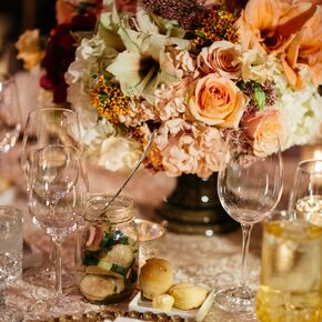 New Romantics Rustic Wedding Bouquets And Centerpieces