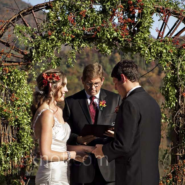 Wedding Dance At The Altar: Castle Ladyhawke Wedding Ceremony