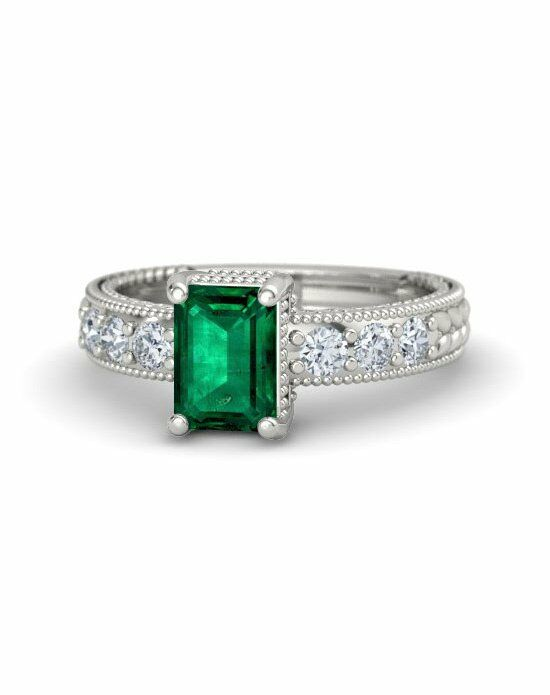 Gemvara - Customized Engagement Rings Emerald Isle Ring Engagement Ring photo