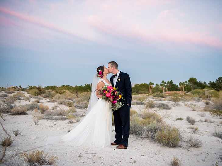 october wedding ceremony at springs preserve in las vegas