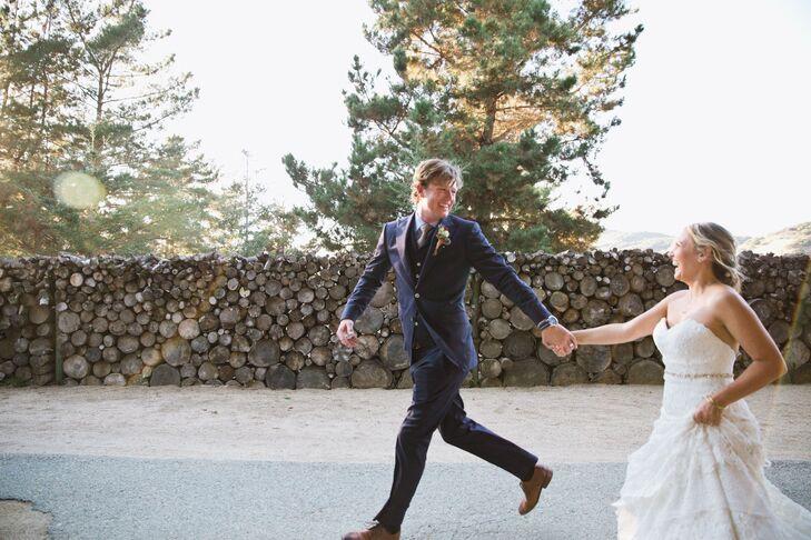 Bohemian Inspired California Wedding At Holly Farm: A Tropical Wedding At Holly Farm In Carmel, California