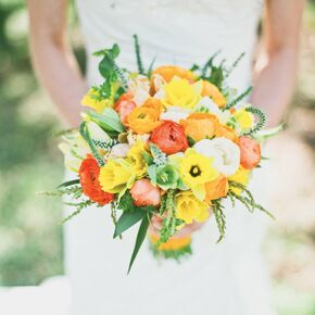 Daffodil Wedding Bouquets