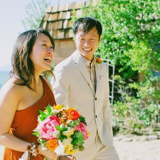 A Beach Second Wedding in South Lake Tahoe
