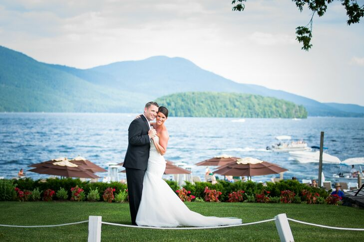 An Elegant Lakeside Wedding in Lake George, NY