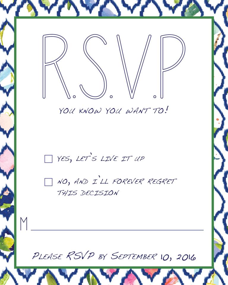 invitations attractive wedding rsvp cards inspirations