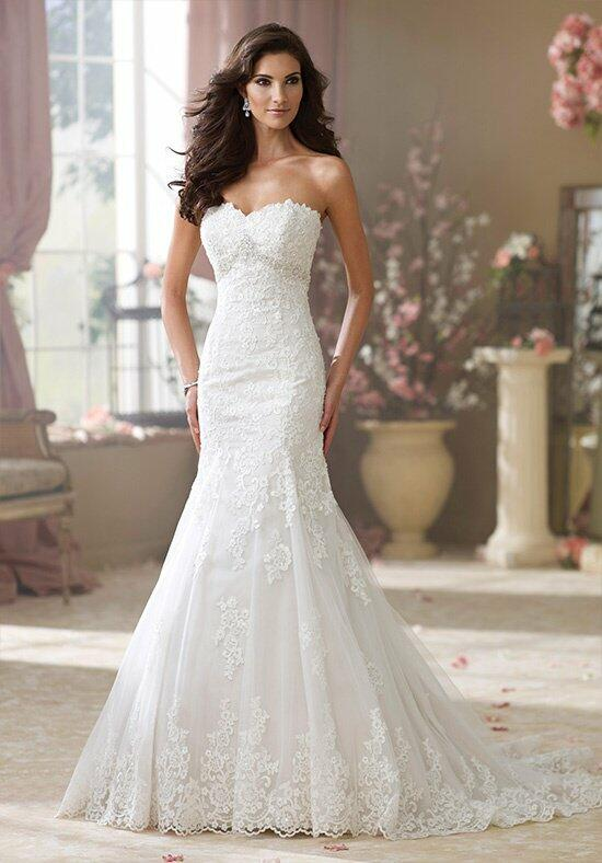 David Tutera for Mon Cheri 214217 Wilma Wedding Dress photo