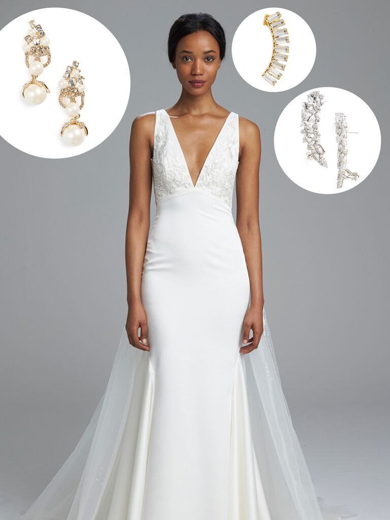 Bridal Jewelry Find Earrings for Your Wedding Dress