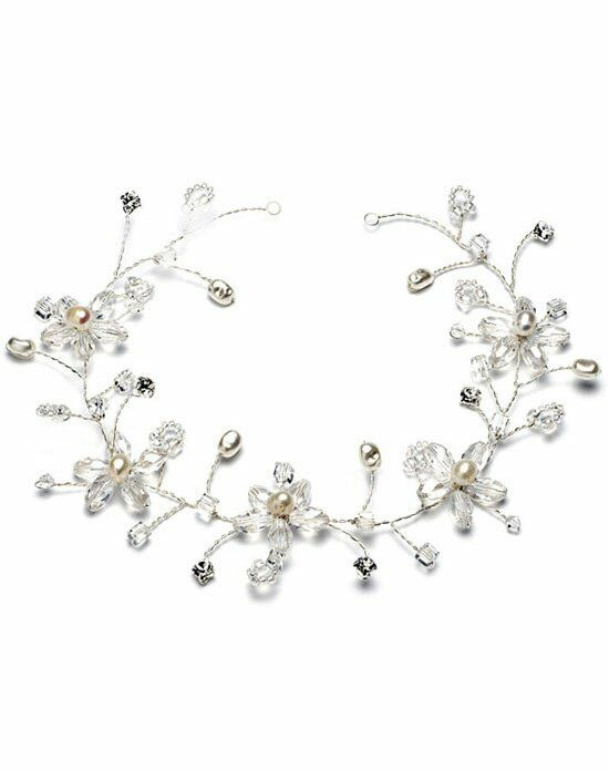 USABride Pearl Flower Hair Vine TI-393 Wedding Accessory photo