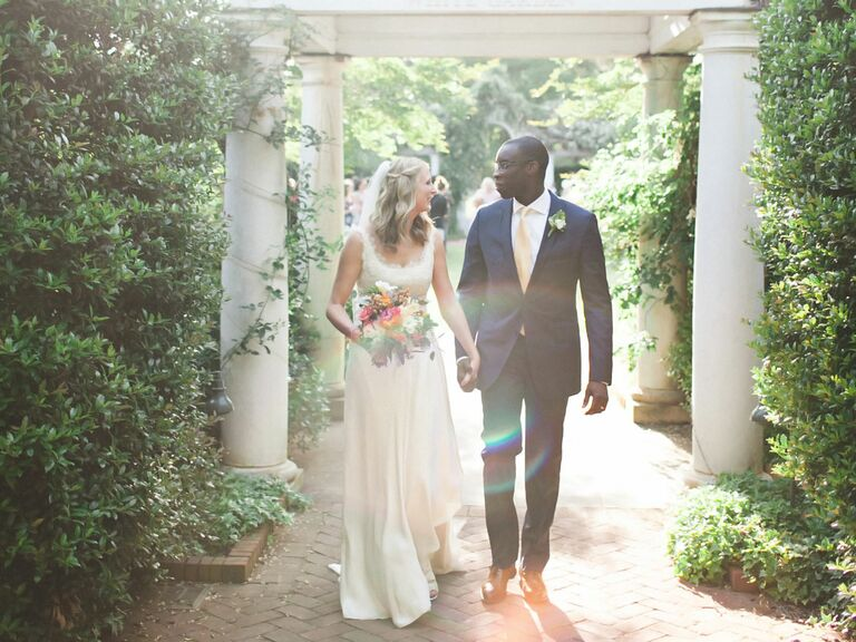 Who pays the most for the wedding bride and groom outdoor ceremony exit junglespirit Choice Image