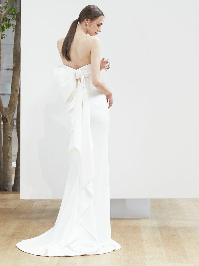 Oscar de la renta wedding dresses spring 2018 fashion