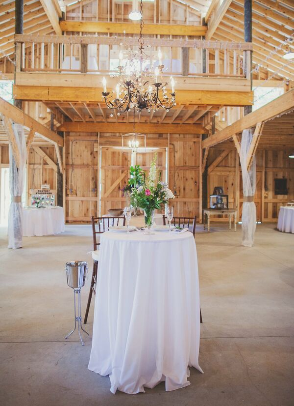 Elegant Barn Reception Space