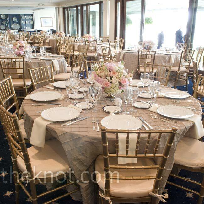 Simple Gold Wedding Decorations: Simple Reception Decor