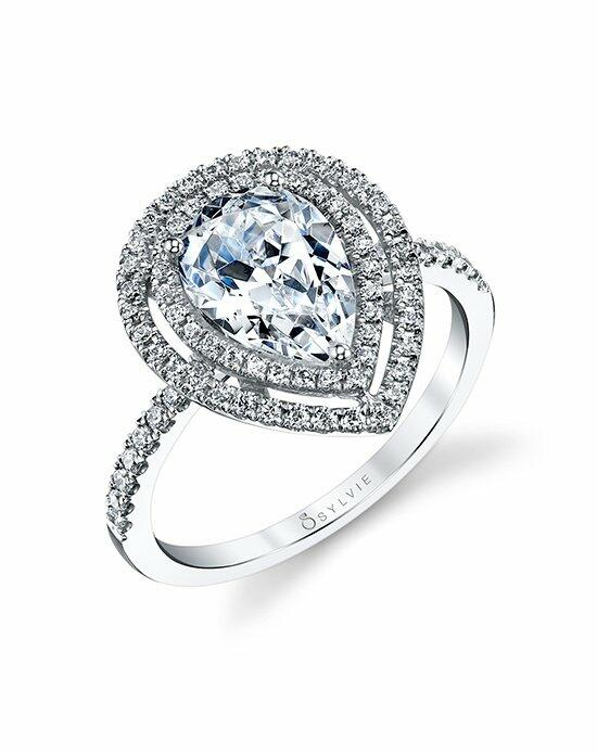 Sylvie Collection S1182 Engagement Ring photo