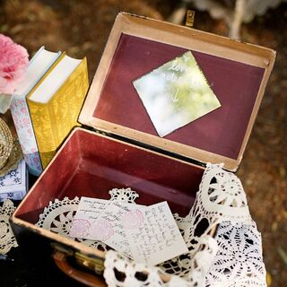 Vintage Wedding Guest Books