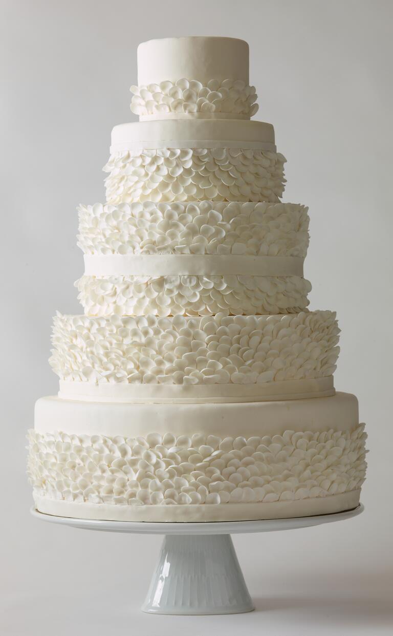 Elegant Wedding Cakes By Sugar Ruffles 04