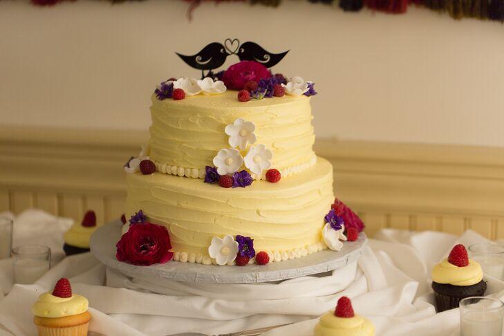 Lemon Coconut Wedding Cake