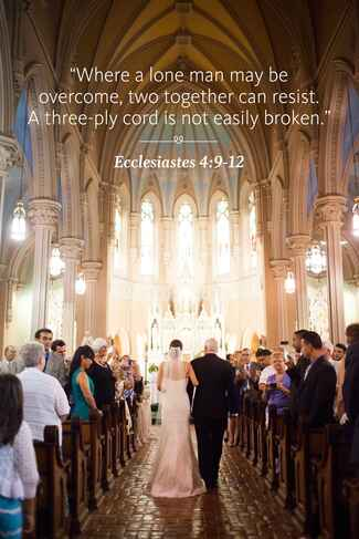 Ecclesiastes wedding ceremony reading