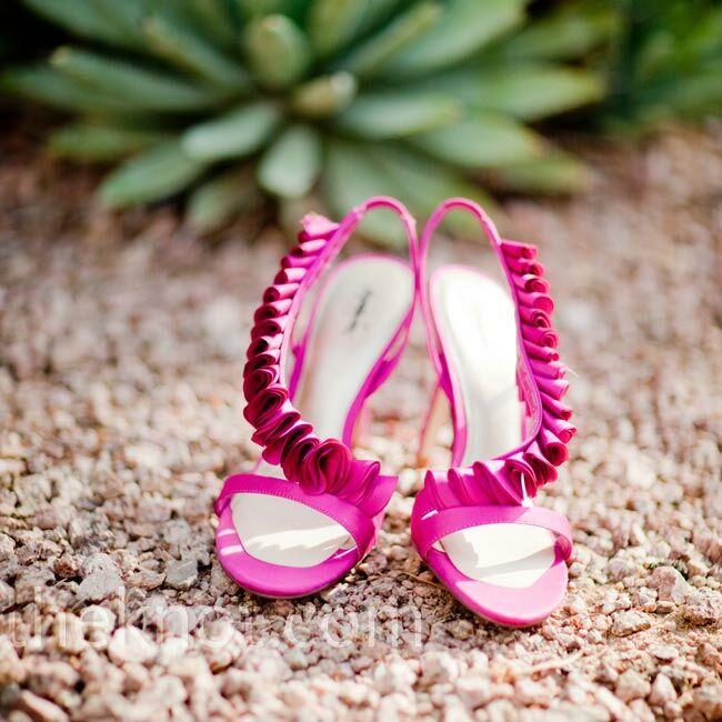 Pink Heels For Wedding: Hot Pink Wedding Shoes