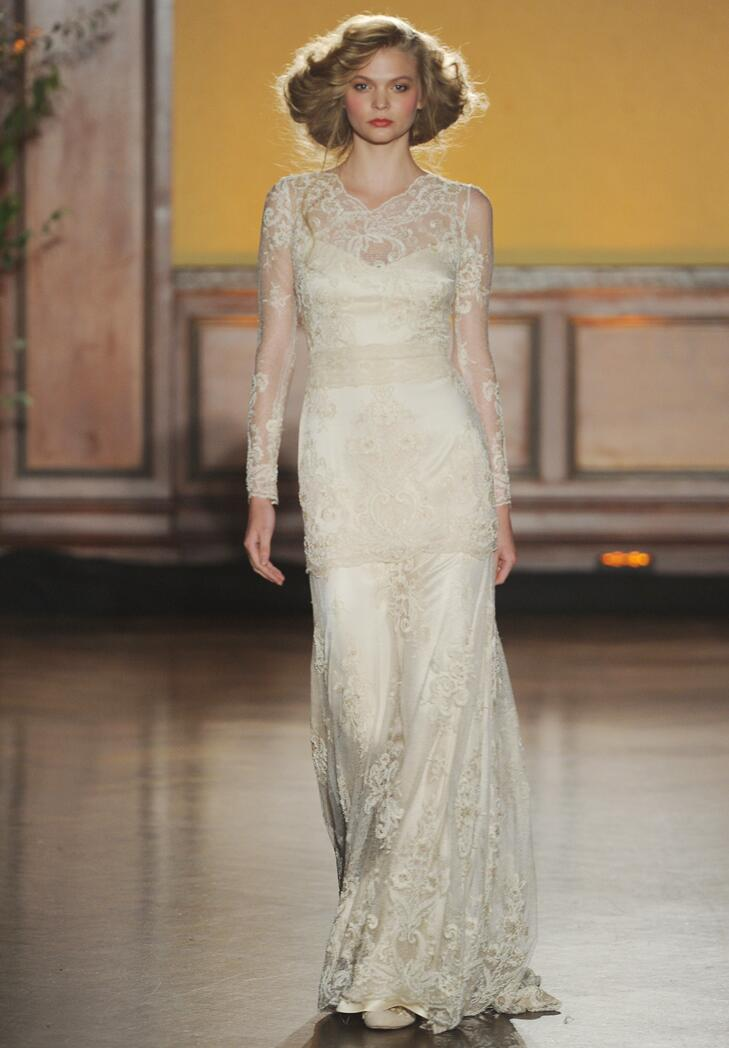 Shop lady edith s wedding look from the downton abbey finale for Downton abbey style wedding dress
