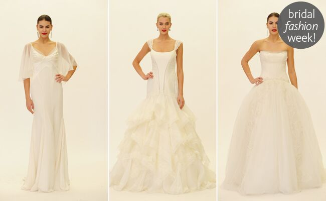 Truly Zac Posen Fall 2014 Wedding and Occasion Dresses
