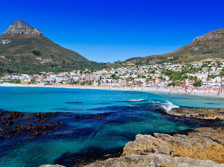 Romantic honeymoon destination Cape Town, South Africa