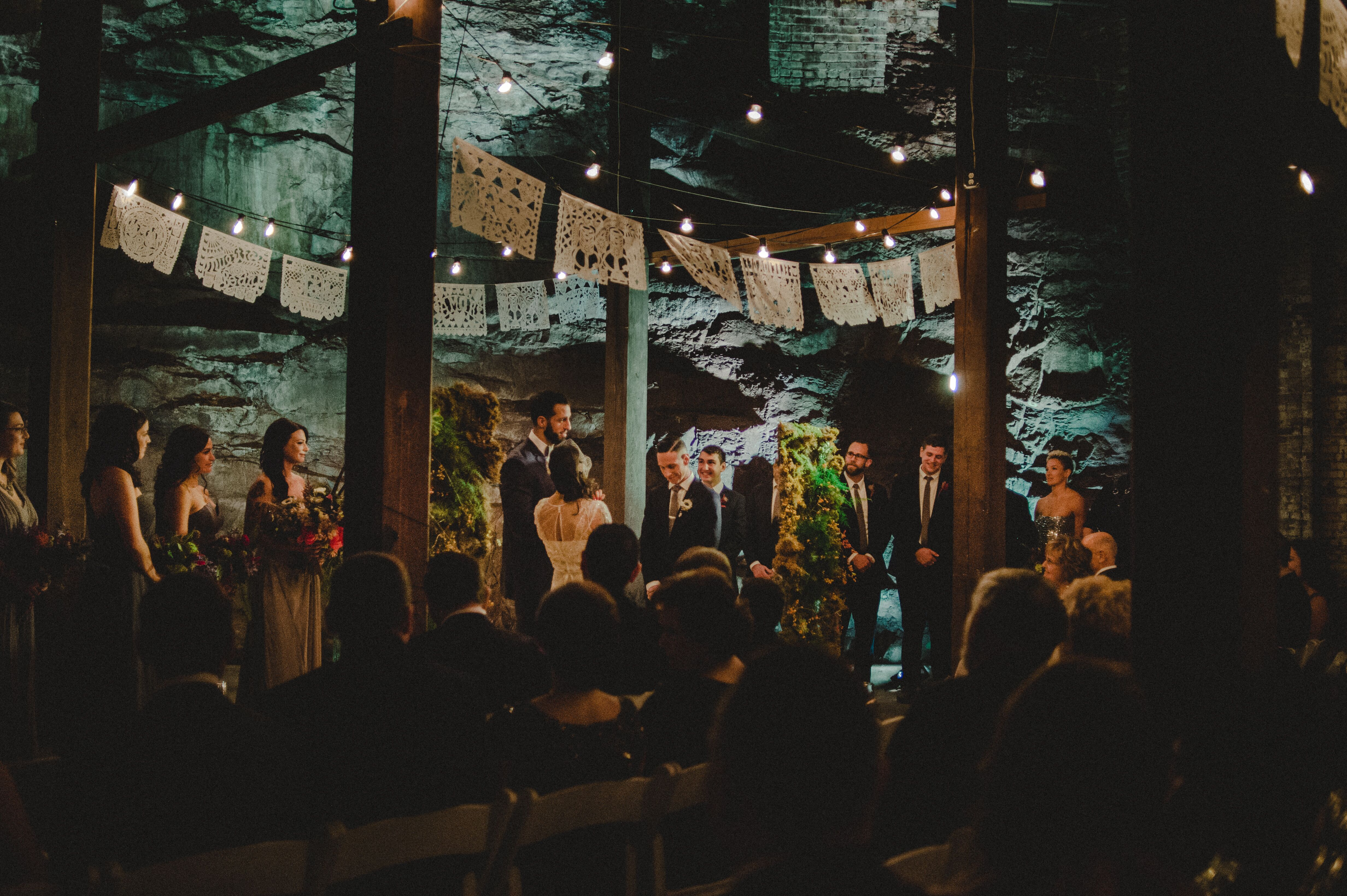 The Art Factory Urban Wedding Ceremony
