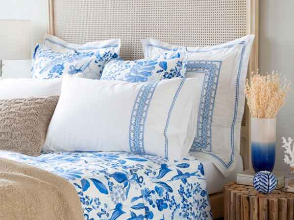 Shop stylish blue and white tabletop, linens and home accessories