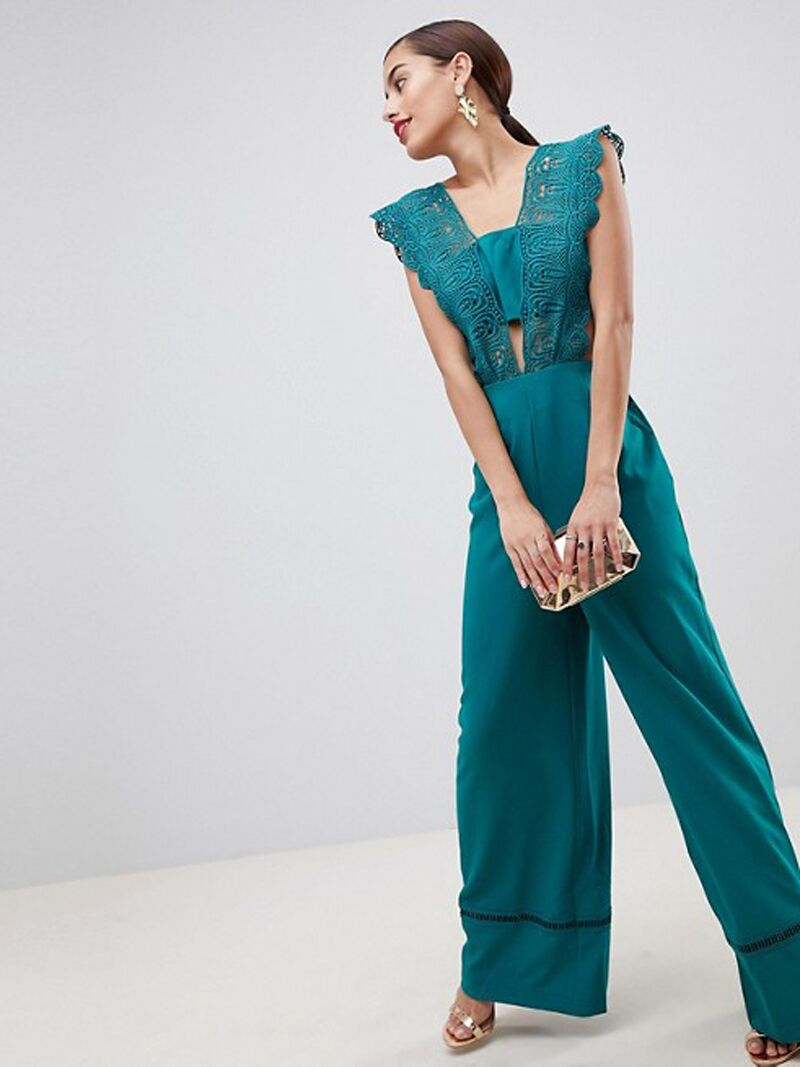44c69094a89 34 Pretty Bridesmaid Jumpsuits