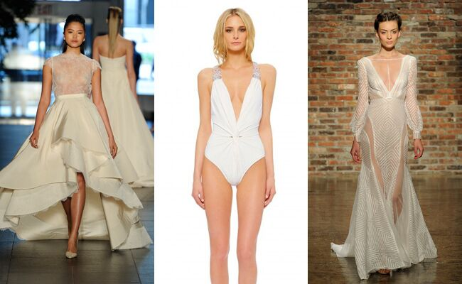 Would You Dare To Wear One Of These Sexy Bridal Styles?