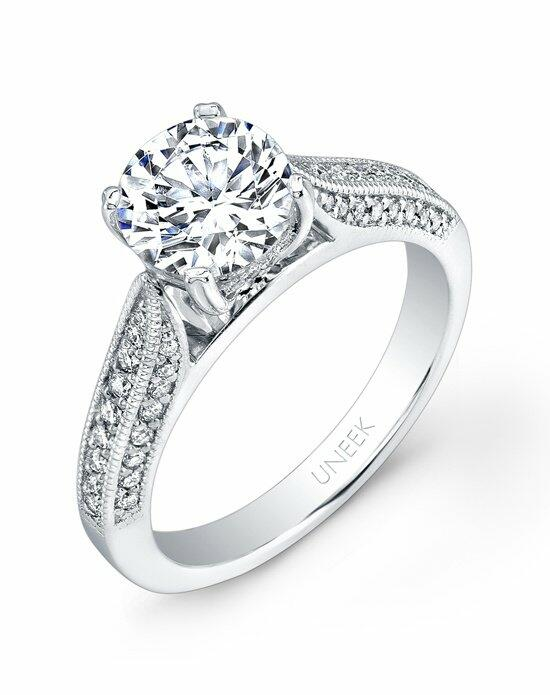 Uneek Fine Jewelry USM023-7.5RD Engagement Ring photo