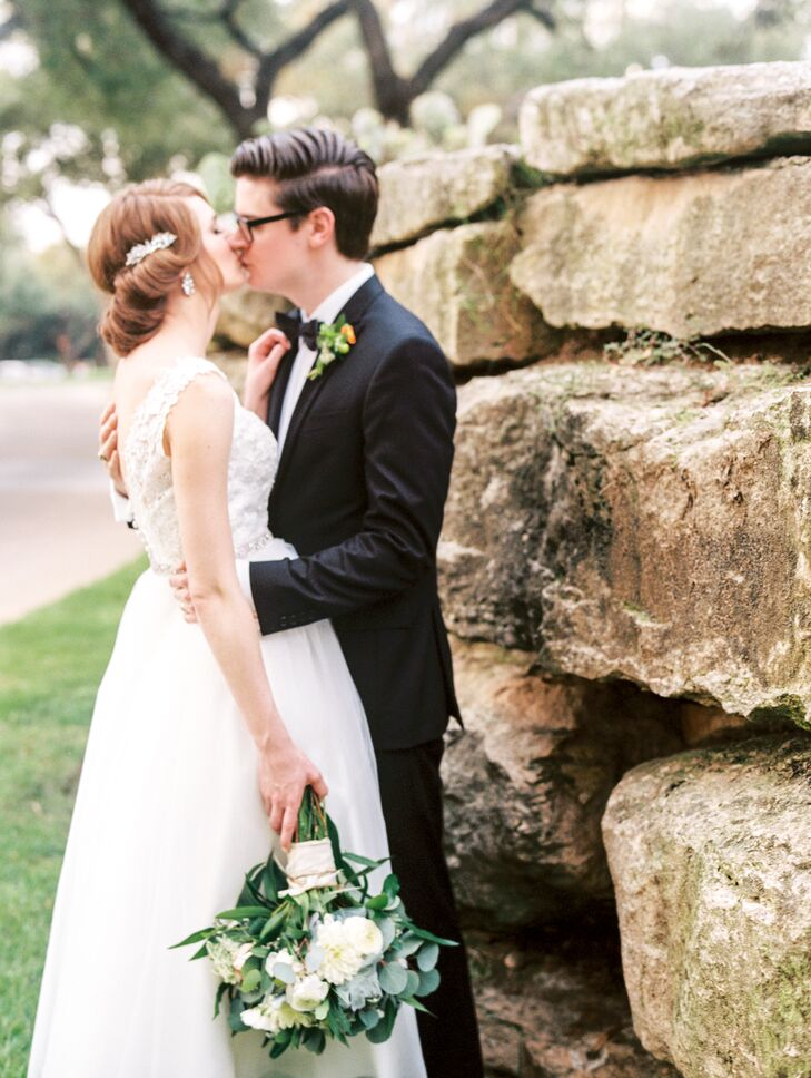 Couple's Shot at Stone Wall outside Austin Country Club