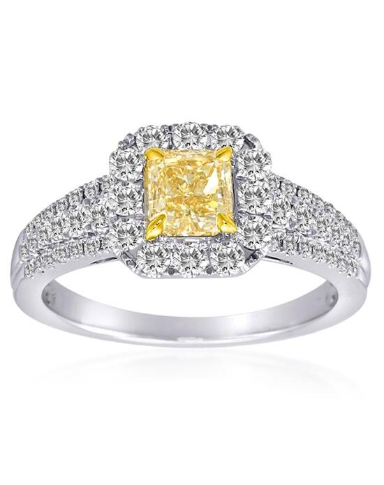 Roman + Jules KR4163WY-18K Engagement Ring photo