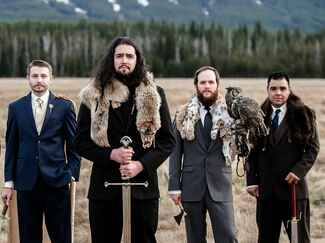 Game of Thrones–inspired wedding groomsmen style