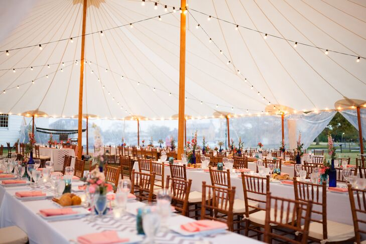 A Rustic, Beach-Inspired Wedding At Sandy Hook Chapel In