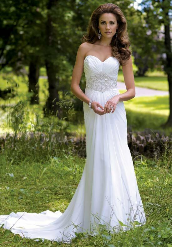 David Tutera for Mon Cheri 113214 Maxie Wedding Dress photo