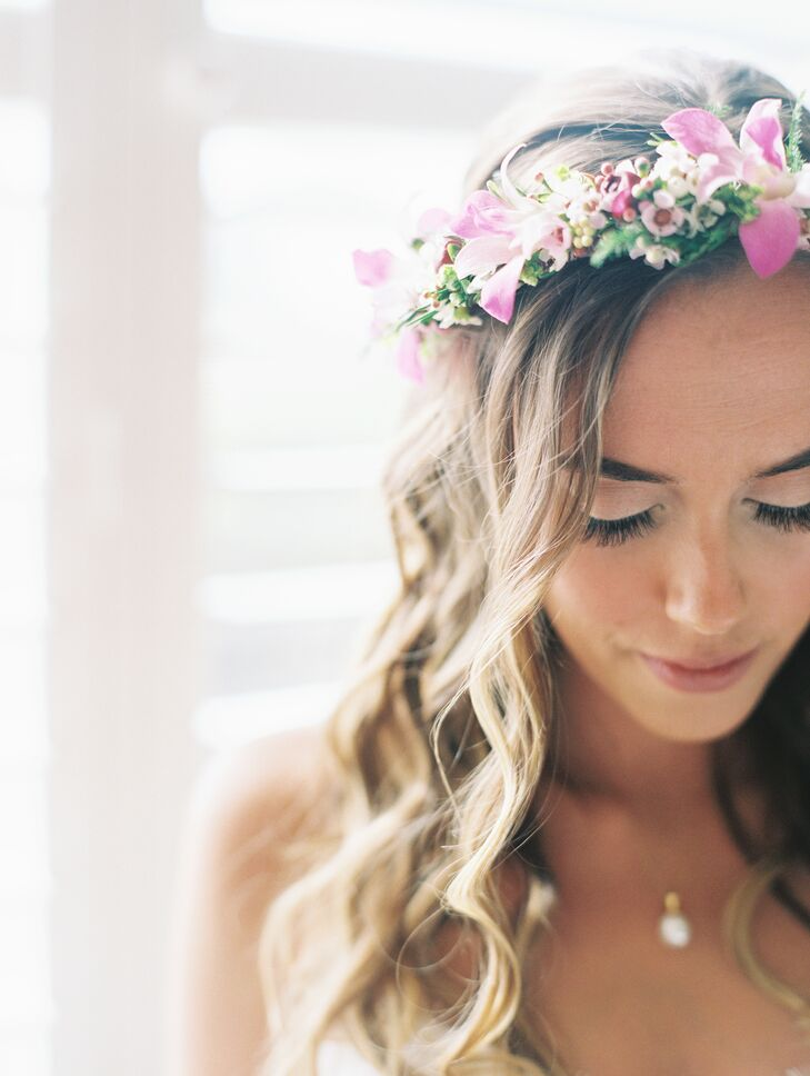 Tropical Hawaiian Flower Crown