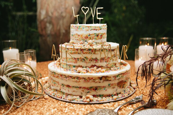Momofuku Milk Bar Birthday Cake Wedding