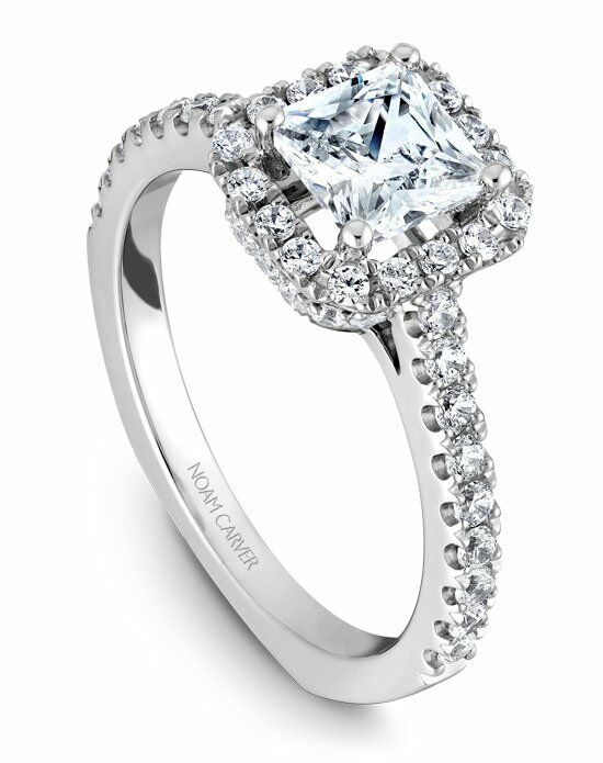 Noam Carver B034-02WS-100A Engagement Ring photo