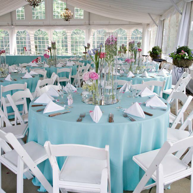 limpet shell pantone, teal color wedding, outdoor wedding, eventsojudith, wedding centerpiece
